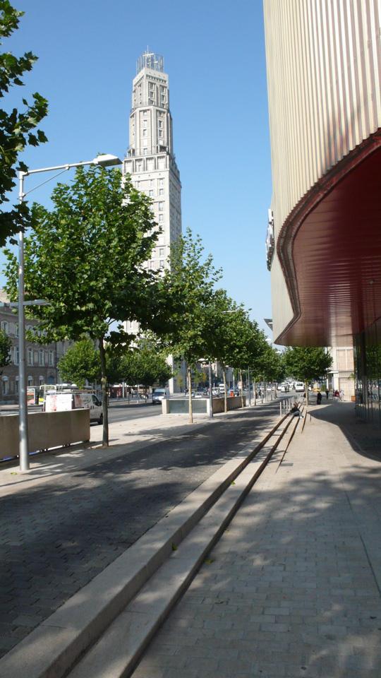 Atelier de paysages Bruel Delmar - South interior Boulevards in Amiens