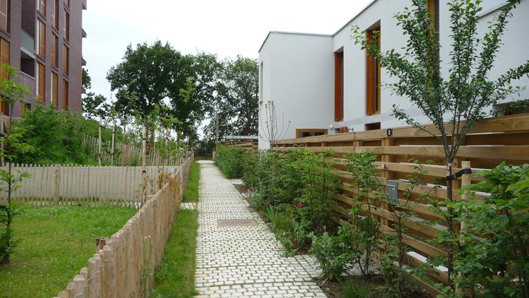 atelier de paysages bruel delmar morinais new district the heart of residential islets. Black Bedroom Furniture Sets. Home Design Ideas