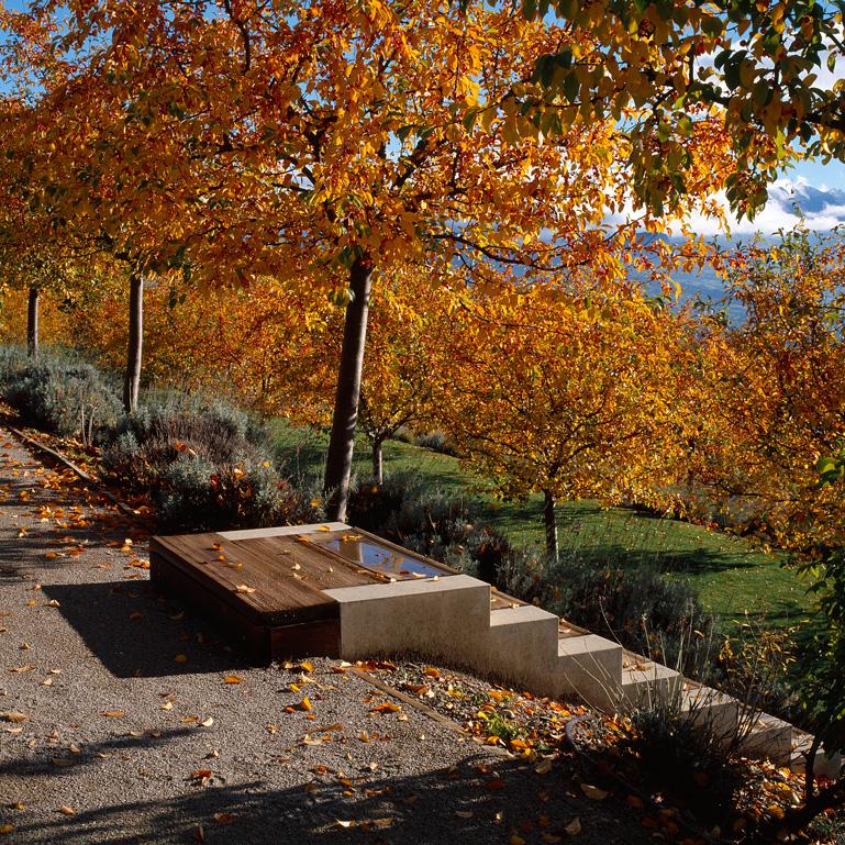 atelier de paysages bruel delmar jardins en terrasse de charance gap. Black Bedroom Furniture Sets. Home Design Ideas